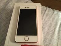 I phone se rose gold 16gb