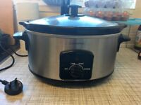 5.5l slow cooker from Cookworks, in excellent condition (used)