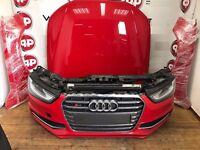 Single unit OEM Front end for AUDI S4 8K B8 Facelift 2012-2016 LHD