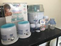 Avent steam steriliser plus bottle warmers