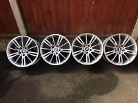 "BMW MV3 18"" Alloys"