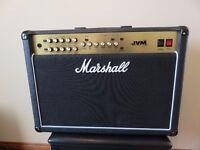 Marshall JVM 100wt 2x12 combo amp. Never used, shop condition New price now nearly £1500, sell £750