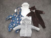 Baby Boy Clothes Bundle Over 50 Items Newborn To Six Month 0-3 And 3-6