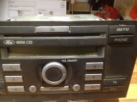 FORD TRANSIT C D RADIO FROM A 58 PLATE