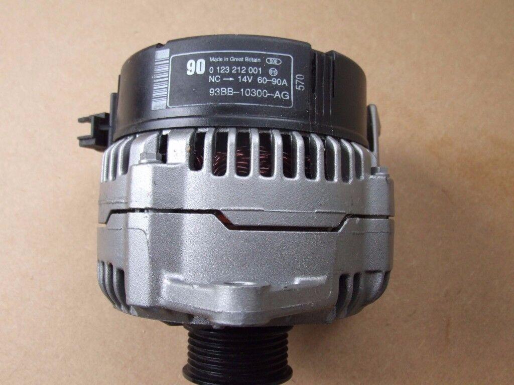 Refurbished genuine Ford 90 Amp Alternator