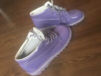 Womens pastel purple kickers brand new, size 5.