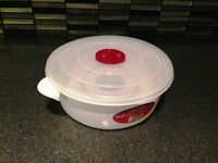 For Sale 2 litre Microwave Pot Tub with Ventilated Lid Heating Food Cooking