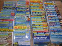 Collection of MMM Motorhome Monthly Magazines
