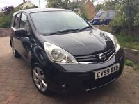 Nissan note,sat nav,family owned from new