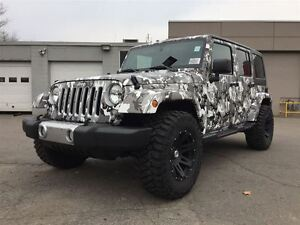 2016 Jeep WRANGLER UNLIMITED **NEW** SNOW TROOPER EDITION ONLY $