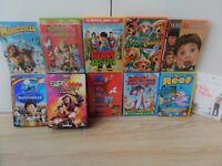 19 childrens DVD KIDS Films Family DVD's,Reef,TinTin,Superman,Spy Kids 3,Elf,Home Alone,Horrid Henry