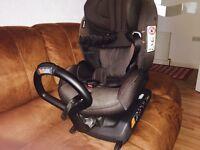BeSafe izi Kid Izofix car seat Rear facing Installation