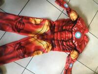 Iron Man suit dress up age 4 a 5 years