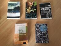 A level English Literature books