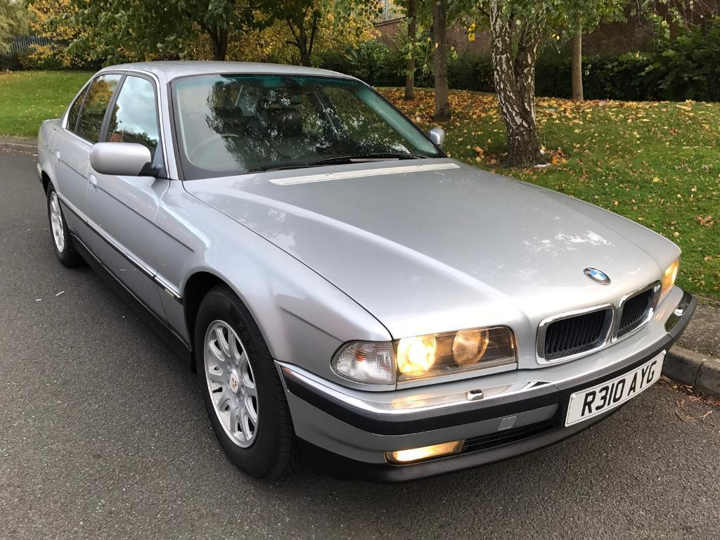 1997 BMW 7 Series E38 740i 4.4 V8 Auto tiptronic 4dr saloon Petrol Automatic -P /X Welcome –