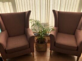 Light brown armchair in very good condition