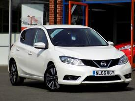 NISSAN PULSAR 1.5 N-CONNECTA DCI 5dr ** ZERO ROAD TAX ** (white) 2016
