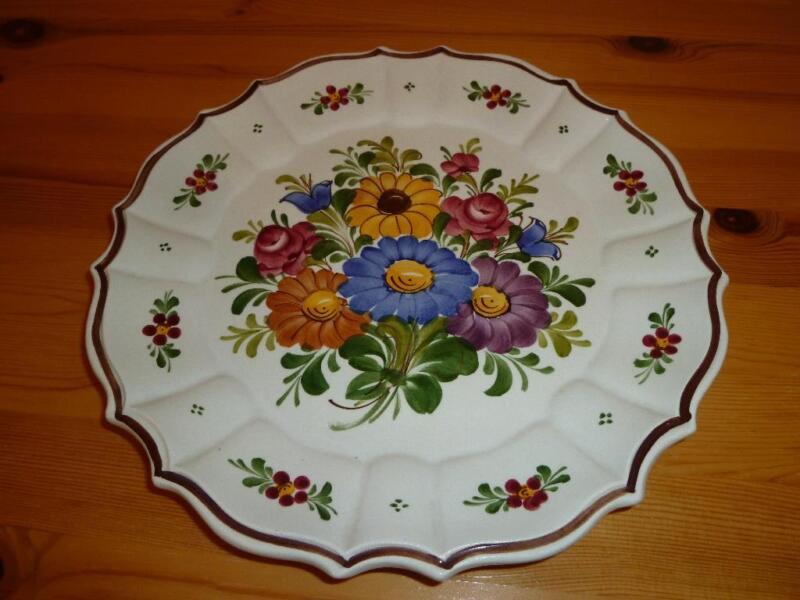 handbemalter keramikteller in harburg hamburg sinstorf ebay kleinanzeigen. Black Bedroom Furniture Sets. Home Design Ideas