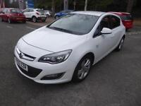 Vauxhall Astra SRI (white) 2014-02-11
