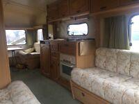 4 berth caravan. Spares or camper van conversation