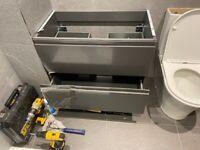 modular bathroom vanity unit/cabinet