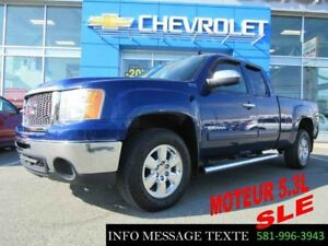 2013 GMC SIERRA 1500 4WD EXTENDED CAB 5.3L SLE 4x4