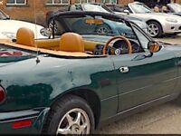 Mazda mx5 v-special British racing green mature owner