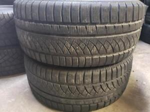 2 winter tires gt radial 245/45r17 SPECIAL !