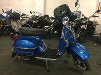 LML STAR 200, 2016, Blue, 4 stroke, Extras, 1 onwer, Finance, Delivery,