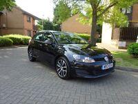 VW GOLF 2013 TDI 1.6 SE BLUEMOTION 5DR FREE ROAD TAX £0 FULL VW HISTORY