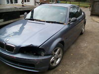 bmw 325i manual 2 door drift car ,runs but needs headgasket