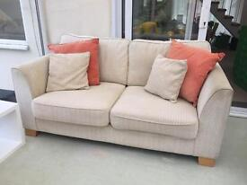 3 Seater, 2 Seater & Large Footstool