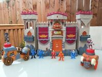 imaginext castle and accesories
