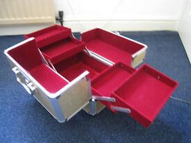 combination lock box make up jewellery box