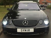 2003 Mercedes Benz CL500 2dr Coupe 5.0 Auto AMG - Petrol & LPG - F/S/H - PX possible Cl 500