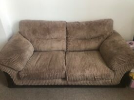 Dfs sofa and puff