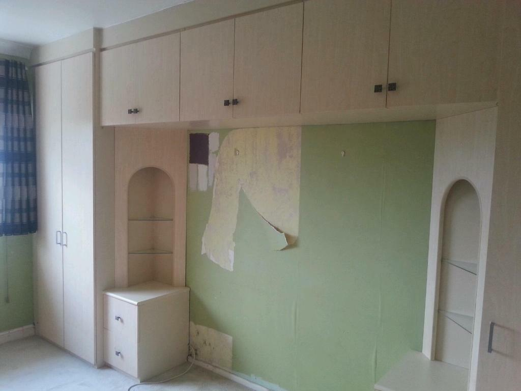 Free For Collection Fitted Wardrobes Over Bed Unit