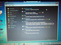 GOOD CONDITION ASUS EEEPC SEASHELL NOTEBOOK WIN 7 2GB RAM 32 GB HDD £99.99