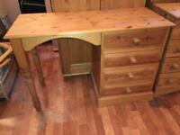 Pine wood Computer Desk