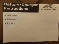 Powakaddy BNIB battery charger