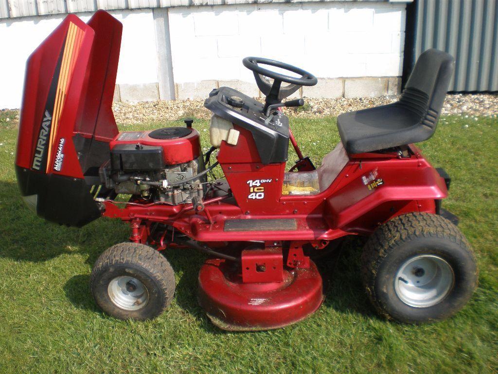 Murray Garden Tractor : Murray inch cut ride on lawn mower in wymondham