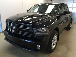 2013 Ram 1500 Sport- Sunroof and Vented Seats