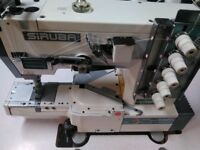 **Industrial Coverstitch Sewing Machine, SIRUBA C007**