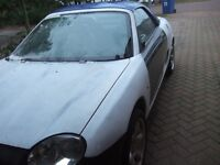 MGF FULL CAR FOR SPARES