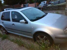 vw golf 1.6 silver mk4 petrol - car drives - Good Wheels - *spares or repair* only £250!
