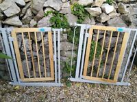 Two bettacare autoclose stair gates