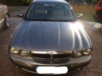 Jaguar X type (all wheel drive) in excellent condition