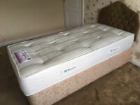 Single BED with Sealy Millionaire ORTHOPEDIC Mattress