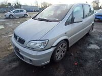 Vauxhall Zafira GSI 02 plate 78000 miles breaking for spares.