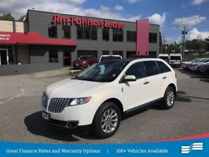 2013 Lincoln MKX Local vehicle with no accidents.